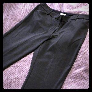 Stretch gray dress pants, size 14